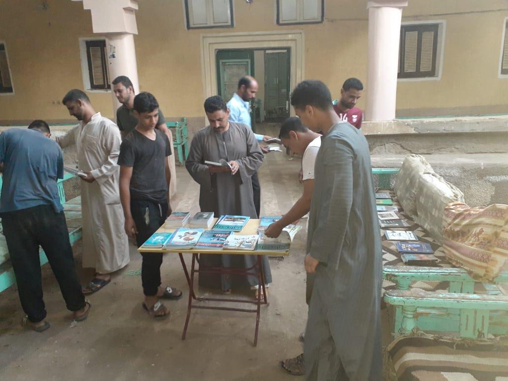 معرض كتاب القرية بالوادى الجديد